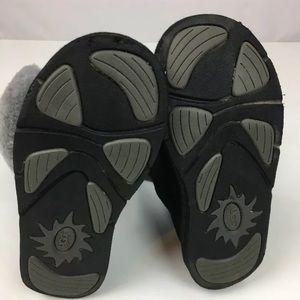 UGG Shoes - UGG Black Suede Leather Black Boots size 7